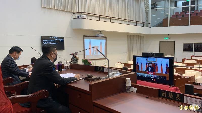 新竹市議會將於明年元月臨時會審總預算。(資料照)