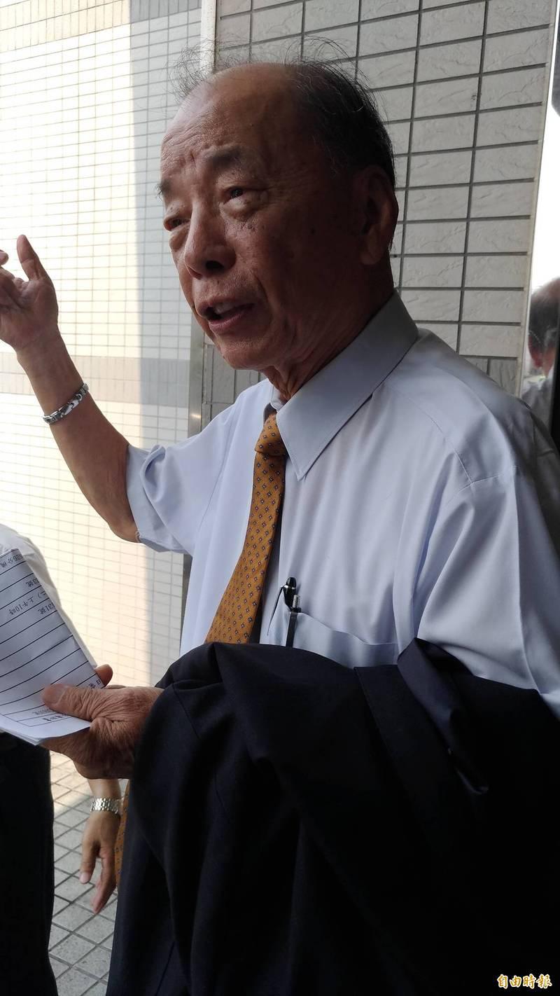 88歲前桃園客運董事長吳運豐被依涉犯3人以上共同詐欺取財罪判處2年徒刑。(資料照)