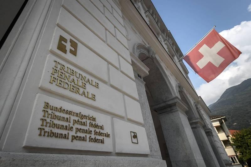 瑞士法庭今天審判賴比瑞亞一名前叛軍指揮官科西亞,他被控告殺害18名平民和其他重大罪行。(法新社)