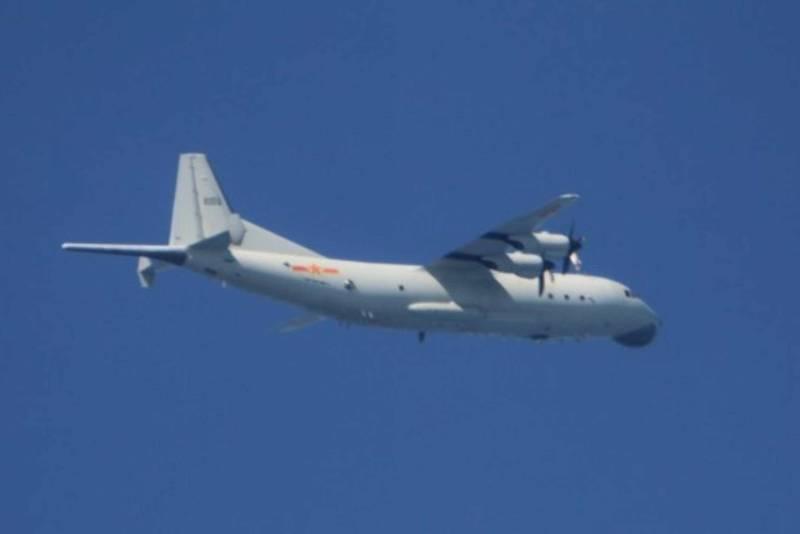 中共軍機常態擾台連8天。(國防部提供)