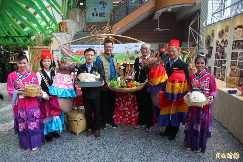 溪口鄉「走進溪口稻田上的饗宴」將展現溪口特色產業及美食。(記者林宜樟攝)