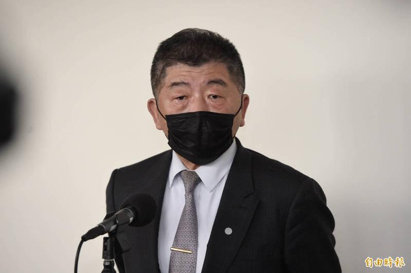 衛福部長陳時中上午在立院受訪被問及核食3月是否進口,他強調:「沒有,完全沒有」,但也坦言日方每次談判經常會談起。(資料照)