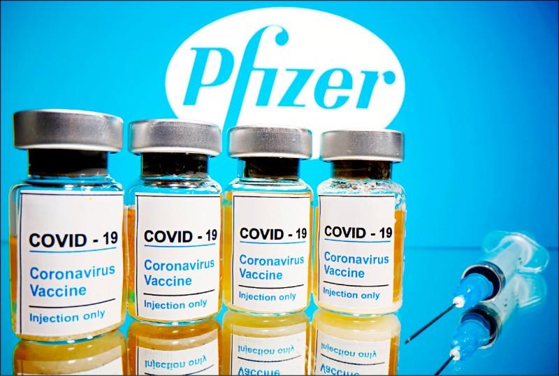 英國首批八十萬劑輝瑞&BNT疫苗,下週起在全國施打,年長者與醫護人員優先。(圖︰路透)