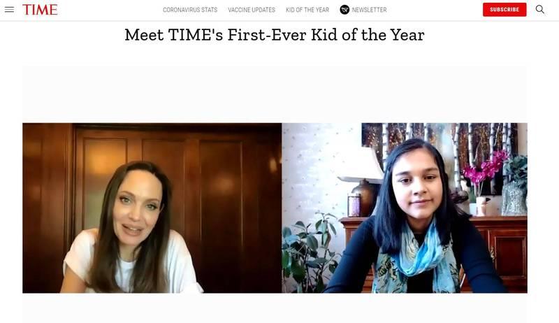 首位「年度風雲兒童」! 15歲印裔科學家登《時代》封面