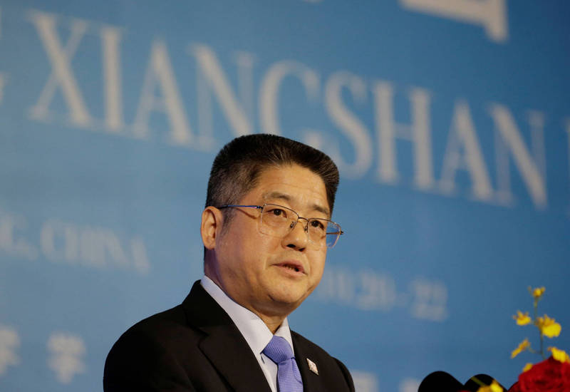 中國外交部副部長樂玉成。(路透)