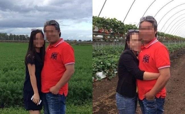 一名移民澳洲的越南人妻痛訴老公外遇,對象竟然是自己親手照顧多年的外甥女。圖左為外甥女與人妻老公合照,圖右為人妻與老公合照。(圖擷取自臉書)