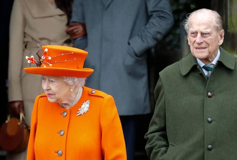 94歲的英國女王伊莉莎白二世和99歲的菲利普親王將在未來幾週內接種輝瑞與BioNTech生技合作研發的疫苗。(法新社)