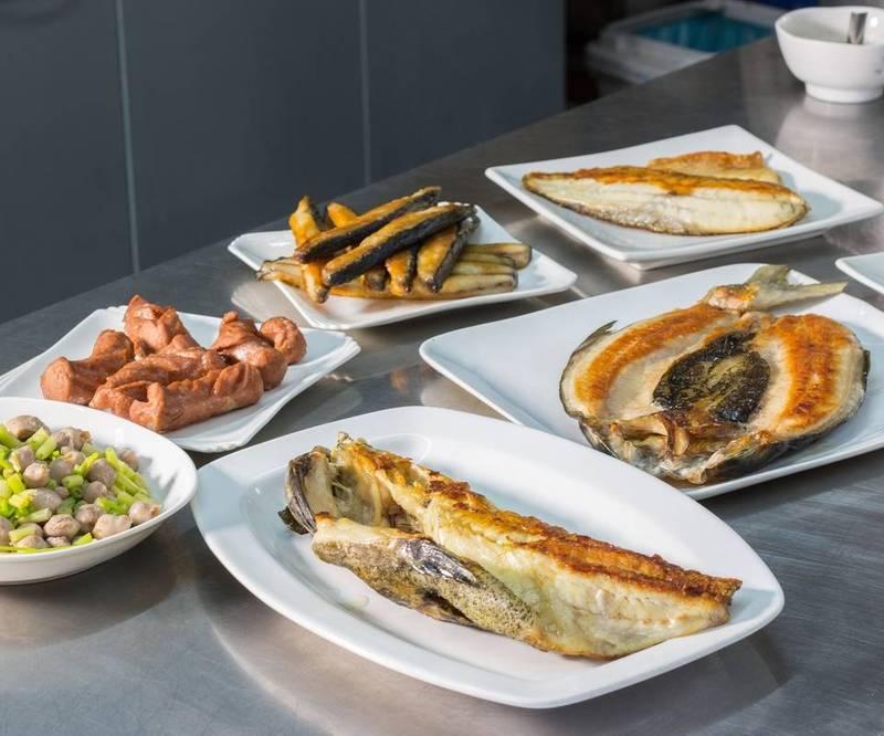 黃國良養殖的虱目魚可以作成各式料理。(黃國良提供)