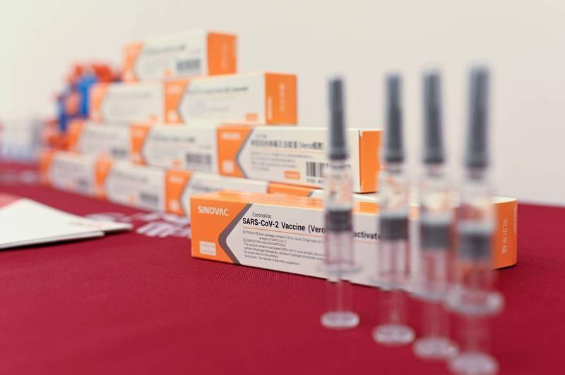 中國「科興生物公司」研發武漢肺炎疫苗。(法新社檔案照)