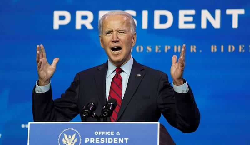 拜登(見圖)被認為是美國總統當選人,但知名美國華爾街分析師提出4個無法信他會保護美國免受中國侵害的理由。(路透檔案照)