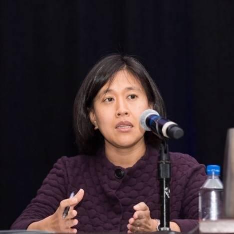 拜登擬提名眾院歲出入委員會的首席貿易顧問戴琪(Katherine Tai)擔任美國貿易代表。(圖取自「美中貿易全國委員會」網站)