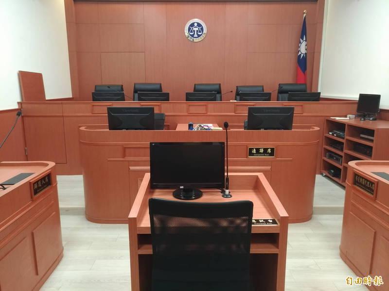 懲戒法院判鄭姓員警降一級改敘。(記者吳政峰攝)
