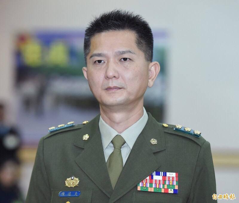 永和警衛室前少將外衛主任陳逸夫。(資料照)