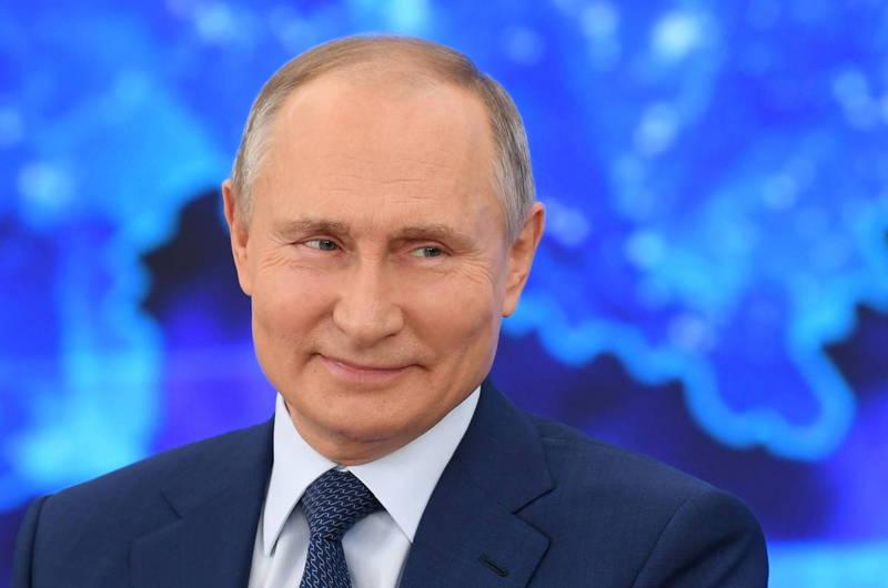 俄羅斯總統普廷宣稱,「史普尼克V」疫苗的保護率高達97%。(美聯社)