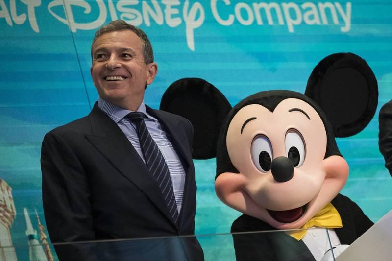 美國總統推定當選人拜登計畫提名媒體娛樂巨擘迪士尼公司(Disney)董事長艾格(Bob Iger)為駐中國或駐英國大使。(法新社資料照)