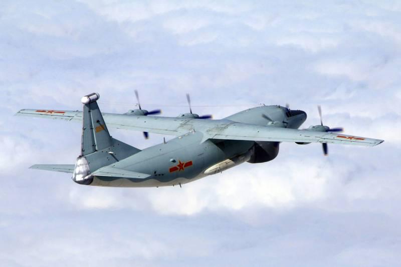共機今天侵入西南空域遭我驅離,還被美軍嗆聲進行國際航行權宣告。(示意圖,國防部提供)