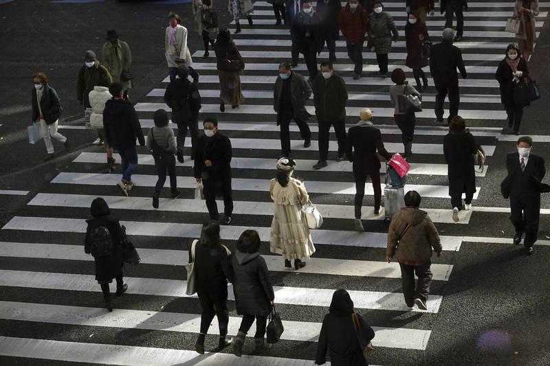 今日東京都單日新增確診病例共664例,為連續第3日維持在單日600例以上記錄,累計病例正式突破5萬大關。(美聯社)