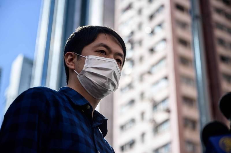 許志峯批評香港政府以涉嫌洗黑錢的罪名指控他,此說法荒謬對他是「人格謀殺」。(法新社)