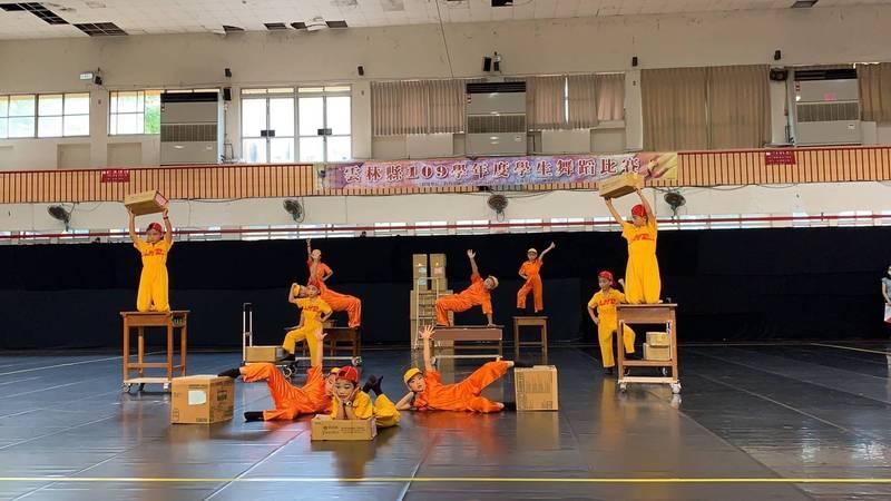 建陽國小舞蹈隊優異表現,拿到進軍全國賽門票。(記者林國賢翻攝)