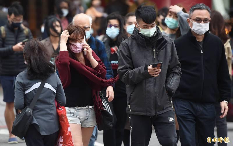 受東北季風影響,今日北台灣仍是濕冷天氣,包含北北基及宜蘭等4縣市持續發布大雨特報。(資料照)