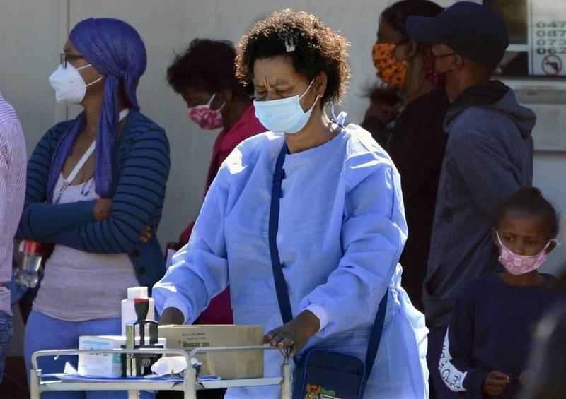 南非出現武漢肺炎新變種,似乎對年輕人的感染力更大。(美聯社)