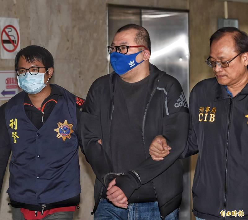 警方中午將劉維霖移送北檢,檢察官下午複訊後,傍晚近5時許向台北地院聲請羈押。(資料照)