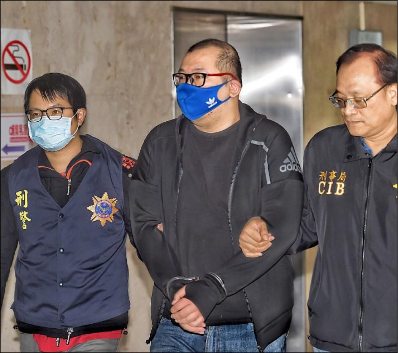警方將嫌犯劉維霖移送北檢,檢察官複訊後,昨晚向台北地院聲押獲准。((資料照)