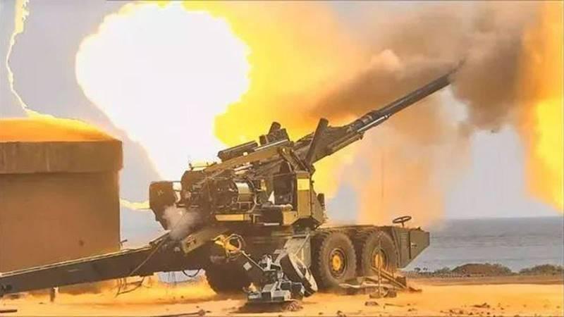 印军于中巴边境测试「世界最强」火炮,累计发射逾2000枚炮弹。(取自印度国防部官网)(photo:LTN)