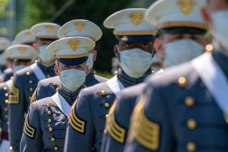 美國著西點軍校爆出近45年以來最嚴重的作弊事件,一共有73名學員涉案,其中59人已承認作弊。西點軍校示意圖。(法新社)