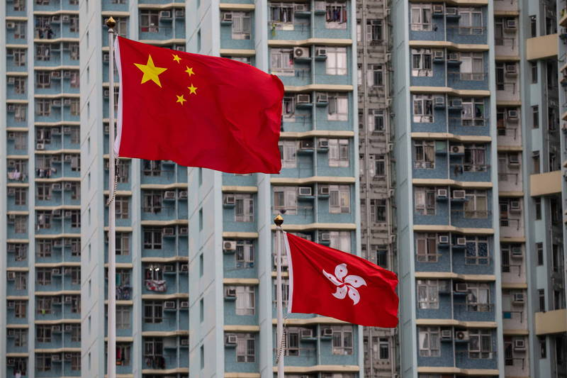 香港飛行服務隊與中國數十家企業遭美列為黑名單。(歐新社)
