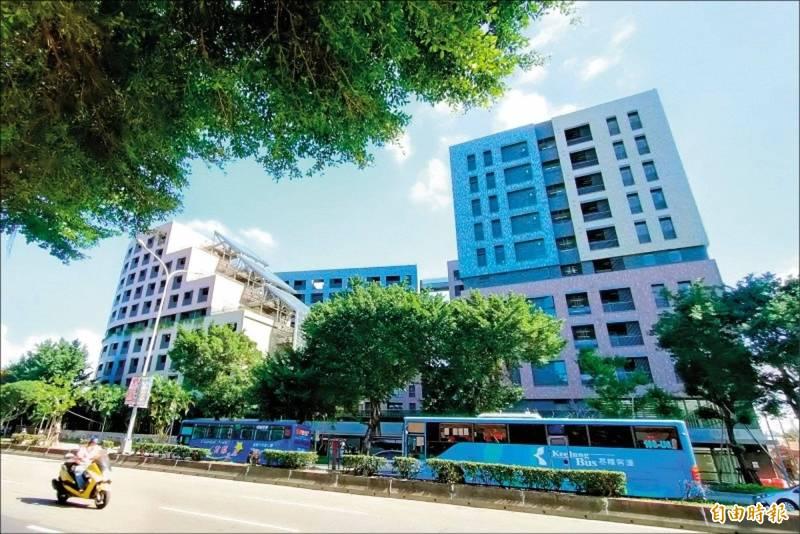 台北市明倫社會住宅。(資料照)