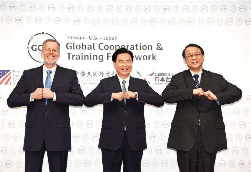 台灣澳洲 共同價值觀印太夥伴