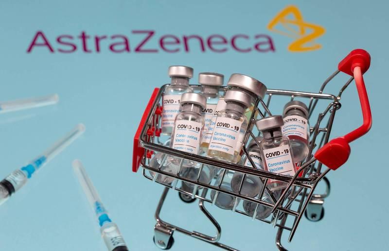 英國藥廠阿斯特捷利康(AstraZeneca)22日表示,其武漢肺炎(新型冠狀病毒病,COVID-19)疫苗應對新的變種病毒有效。(路透)