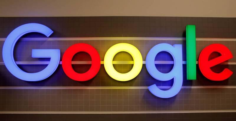 Google公司企业形象标识。(路透档案照)(photo:LTN)