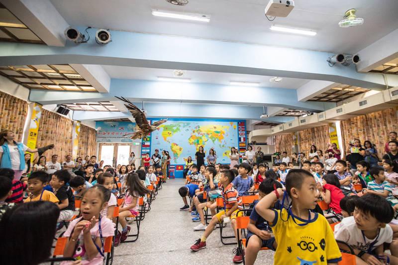 白雲國小109學年度為額滿學校,資料照。(新北市政府教育局提供)