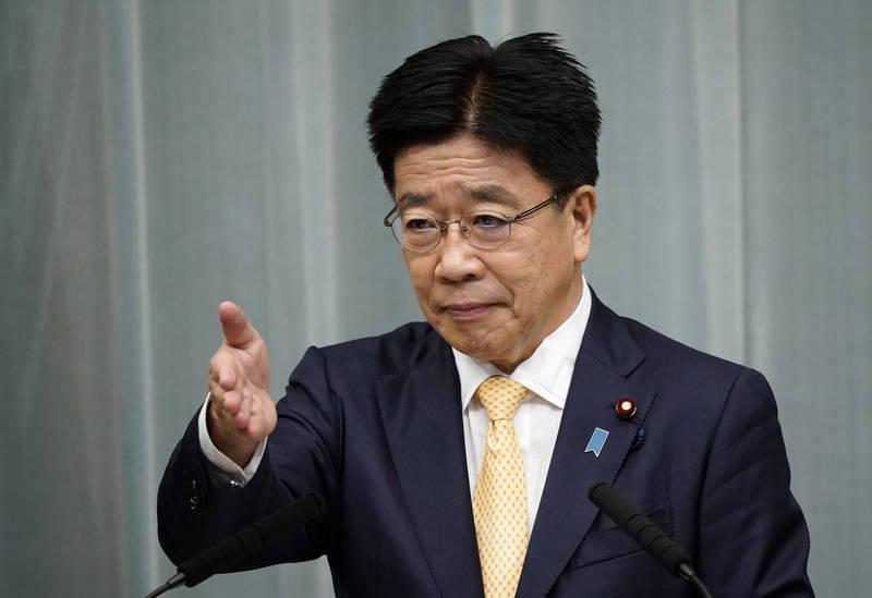 加藤 官房 長官 朝鮮退出東京奧運會 日發言人:對朝政策不變
