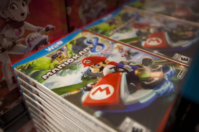 任天堂人气游戏软体「玛琍欧赛车」。(彭博)(photo:LTN)