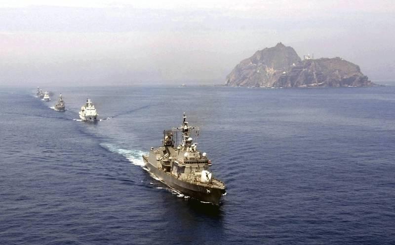 南韓軍方在12月4日以「非公開形式」實施今年下半年的獨島(日本稱竹島)防禦演習。(路透資料照)