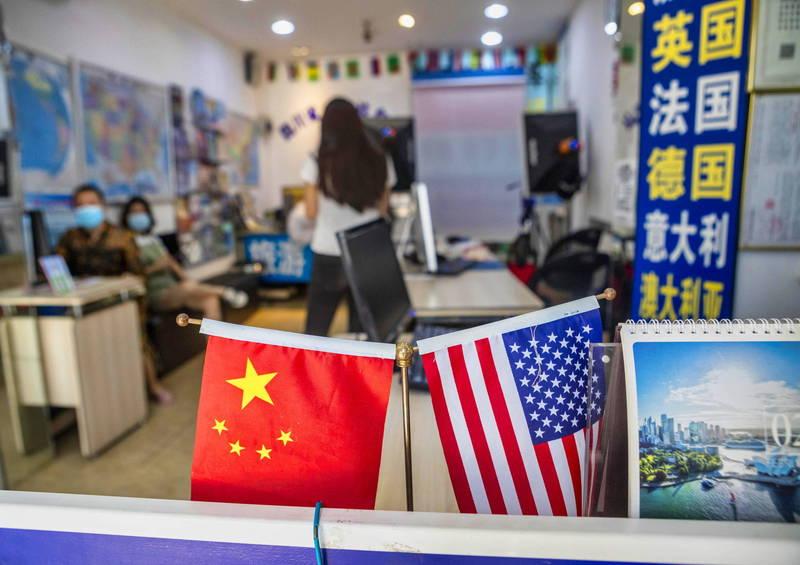 《世界移民报告2020》指出,中国2019年约有1070万人移民国外,大多往美国、日本、加拿大、澳洲等先进国家移动。示意图。(欧新社)(photo:LTN)
