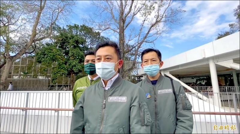 新竹市長林智堅昨天表示,站在市民權益的保障與資訊安全第一的考量下,新竹市政府決定暫緩試辦數位身分證。(記者洪美秀攝)