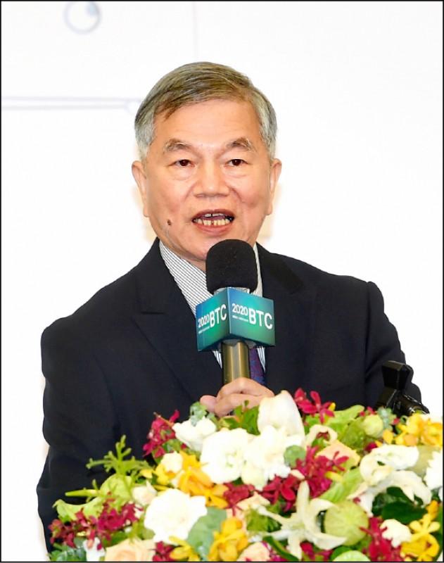 行政院副院長沈榮津說,部會中國製作無人機,明年底前全汰換。(資料照)