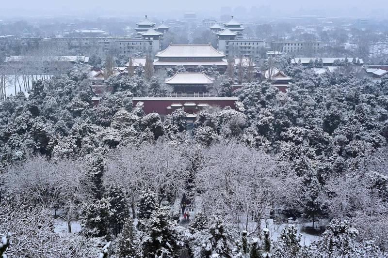 直至31日,中國恐怕有超過8成的國土將被「冰凍」。(法新社)