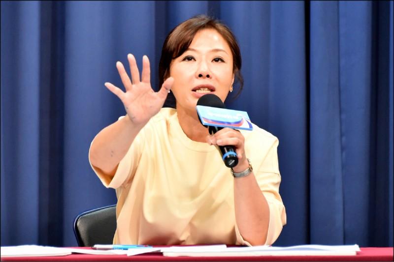 國民黨副秘書長李彥秀赴美探視女兒,引發民進黨立委關切。(資料照)