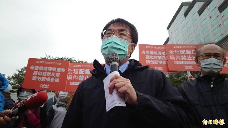 台南跨年晚會原本照辦舉行,台南市府今晚緊急宣布改為線上直播。(記者洪瑞琴攝)