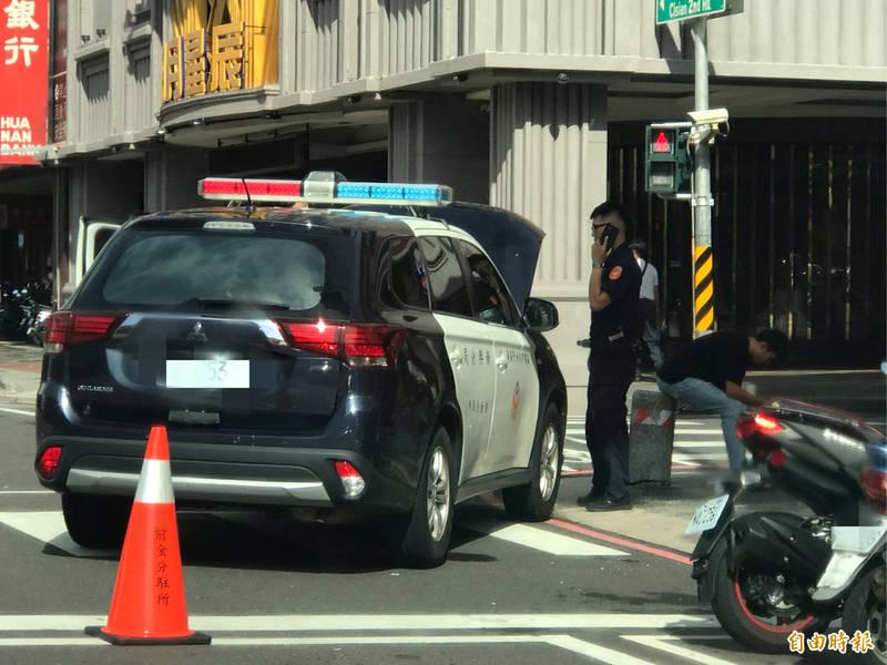 高市今年一至十月警、民車車禍107件,比去年同期減少10件,男警是女警的11倍多。(資料照,記者黃良傑攝)