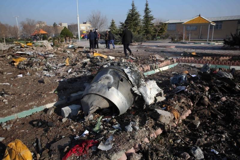 伊朗軍方今年1月誤擊一架烏克蘭班機,造成176人死亡。(法新社)