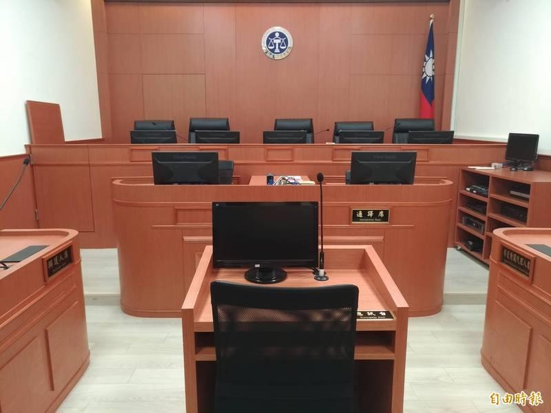 懲戒法院判戴員撤職停用一年。(記者吳政峰攝)