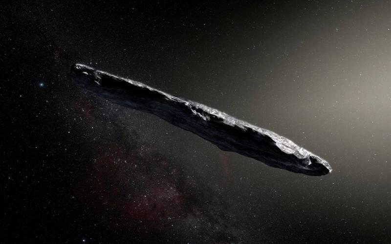 哈佛大學天文系系主任勒布(Abraham Loeb),在今年1月26日即將出版新書裡重申他過去的研究,亦即2017年通過太陽系的雪茄狀詭異星體,就是外星文明的產物。(路透)
