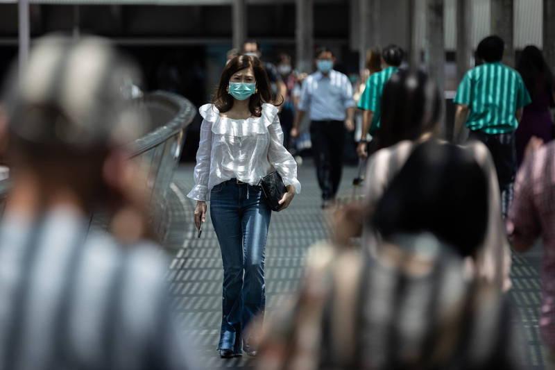 香港武漢肺炎嚴峻,目前有醫院再爆出群聚感染,傳出3病人、2醫護人員染疫。(資料照,歐新社)