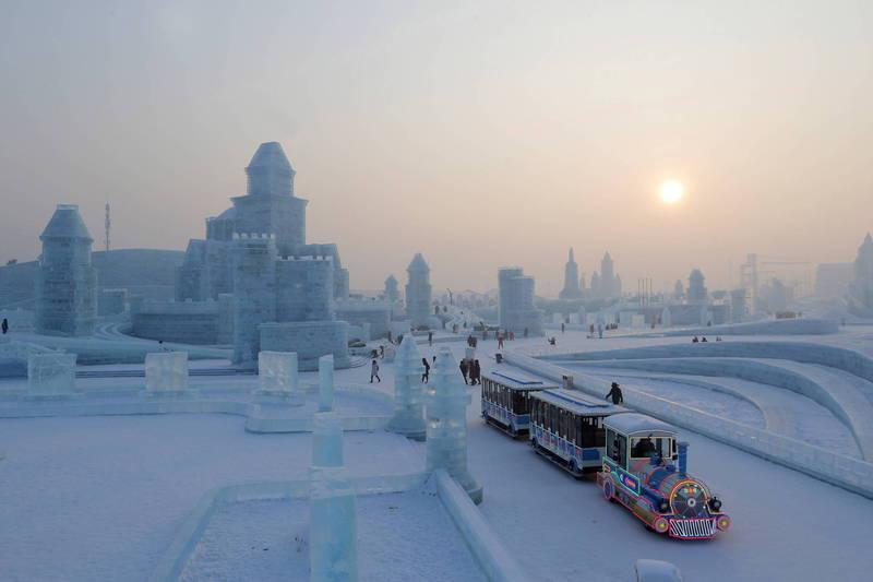 今(5)日是24節氣中的小寒,中國黑龍江省大興安嶺地區今日最低氣溫急凍至零下44.7度,刷新黑龍江省2020年入冬以來最低溫度。(歐新社)